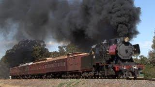 Black Smoke, Heavy Grades - J541 on the VGR: Australian Trains