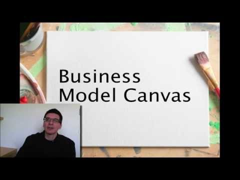 Osterwalder explaining the Business Model Canvas in 6 Minutes