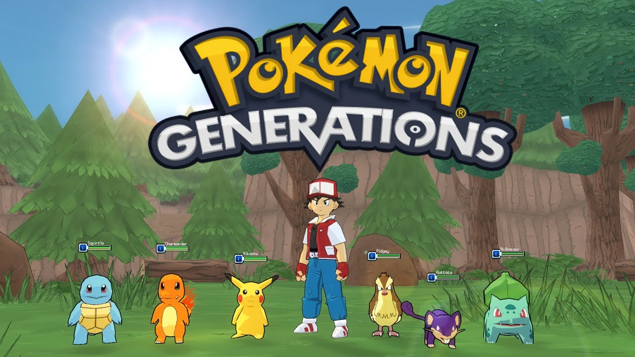 Pokemon Generations  Open World Pokemon Game!  YouTube