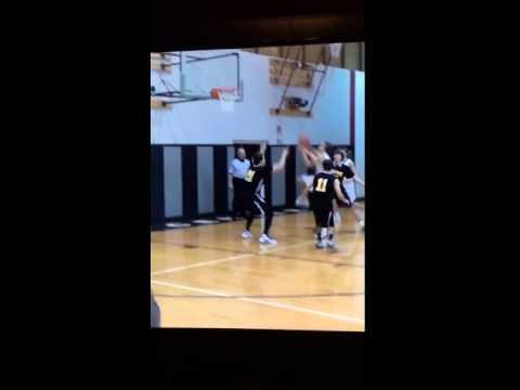 5'10 high schooler slams one down