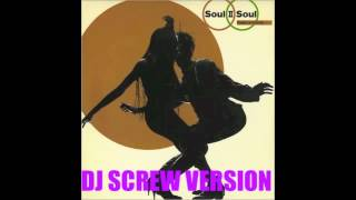 "DJ SCREW ""Soul II Soul : Keep On Movin"""