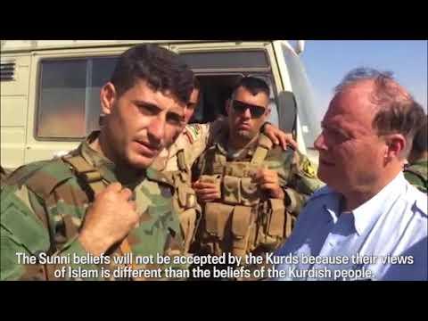 Kurdish Peshmerga Won't Back Down from Sunni