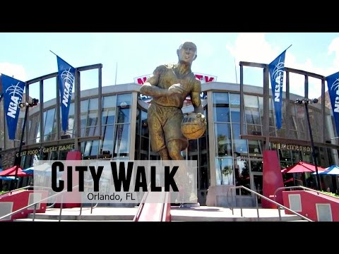 Universal's City Walk | NBA City, The Hardrock, And P!Q