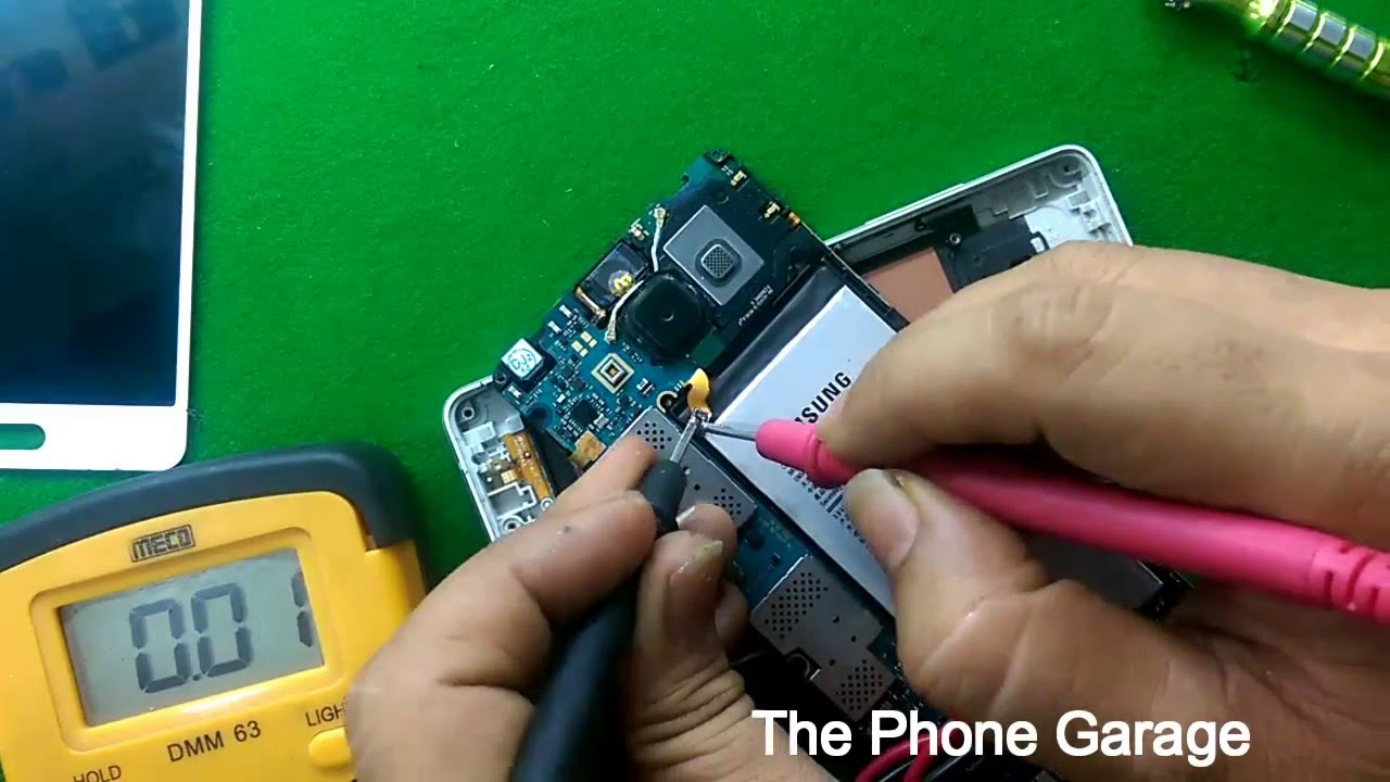 Samsung A5 Diassembly  U0026 Dead Solution