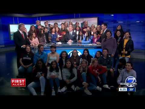 Alamosa's Ortega Middle School kids visit Denver7