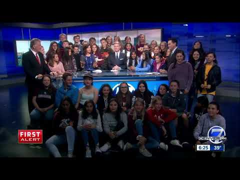 Alamosa's Ortega Middle School kids visit Denver7