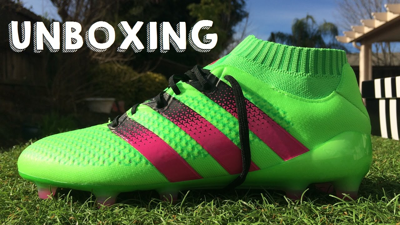 best loved 7eb4d 59173 ... adidas Ace16.1 Primeknit - Unboxing + Comparison - YouTube ...
