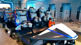 HYPERION Mega Coaster Premier Test - Energylandia Amusement Park Poland