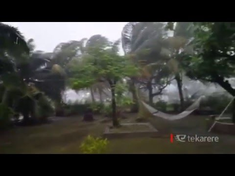 Cook Islands put on alert for possible cyclone to hit