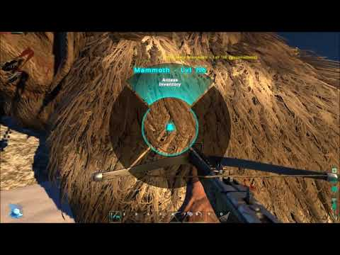 Lets Play Ark  Survival Evolved  Ep4  Mammoth Hunting