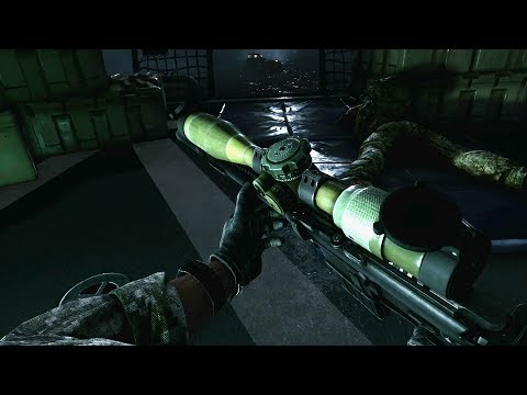 Awesome SNIPER Operation in Sea ! Medal of Honor Warfighter