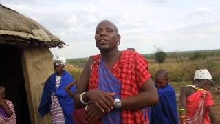Ngawo on his AWF work at Manyara Ranch