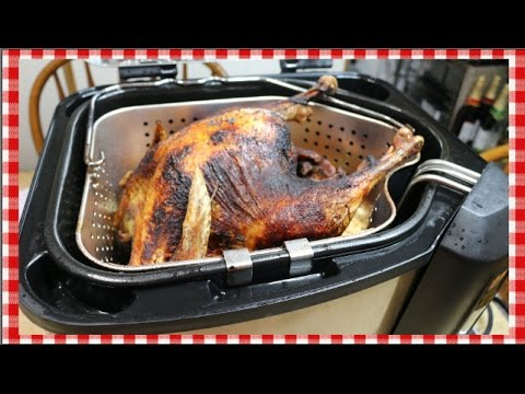 Frying A Turkey Start To Finish In A Masterbuilt How To Fry A