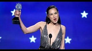 Gal Gadot's Critics' Choice Aw ards Speech Would Make Wonder Woman Proud