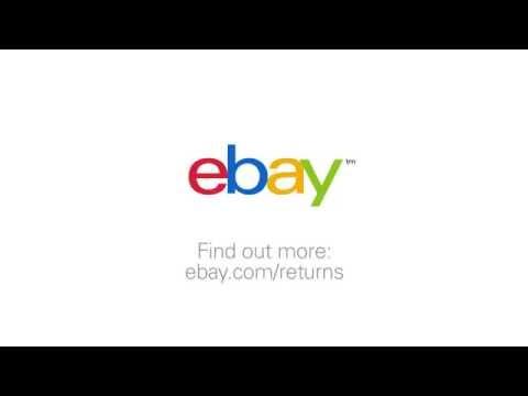Returns on eBay: Using return shipping labels - YouTube