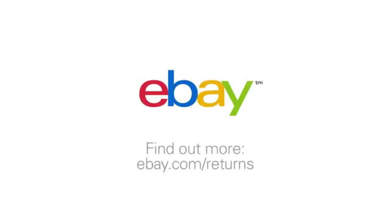 Returns On Ebay Using Return Shipping Labels Youtube