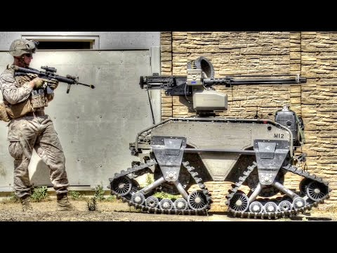 Futuristic Military Combat Robots From US Military