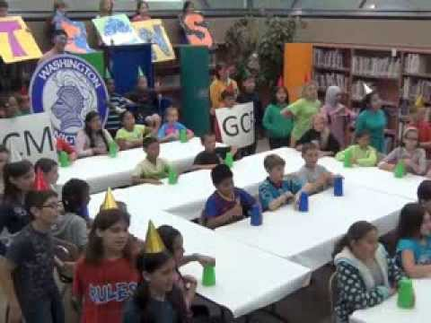 Fractions Music Video - Washington School - CUSD 200