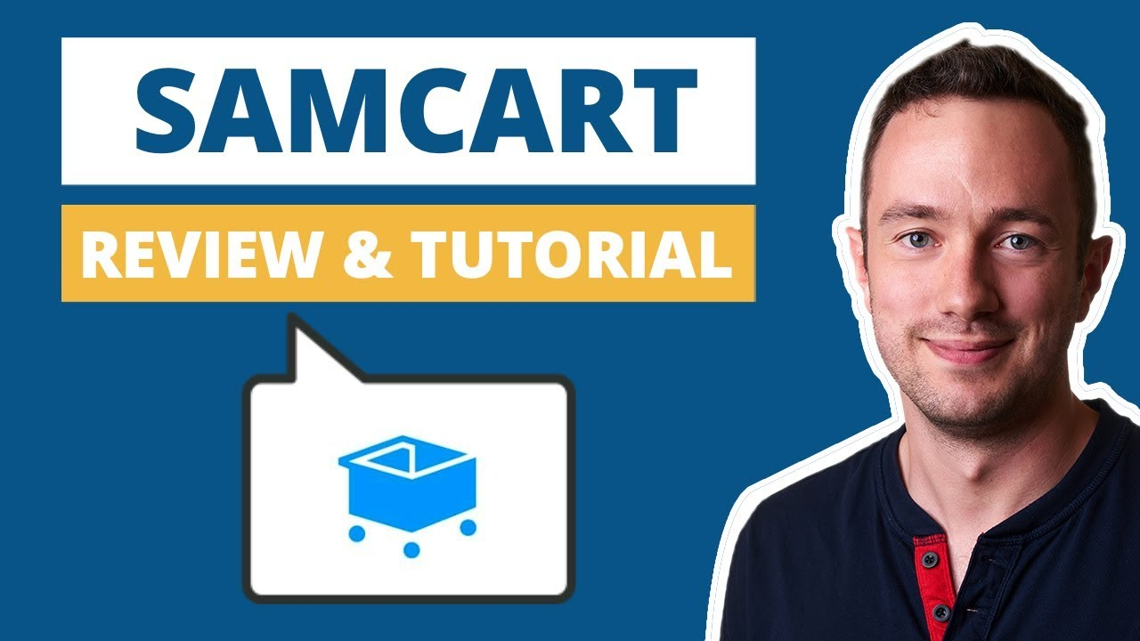 Tutorial Video Landing Page Software Samcart