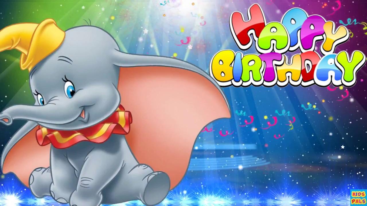 Dumbo Style Happy Birthday Song Youtube
