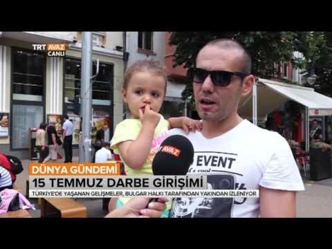 Türkiye'deki Darbe Girişimini Bulgaristan Halkına Sorduk  - Dünya Gündemi - TRT Avaz