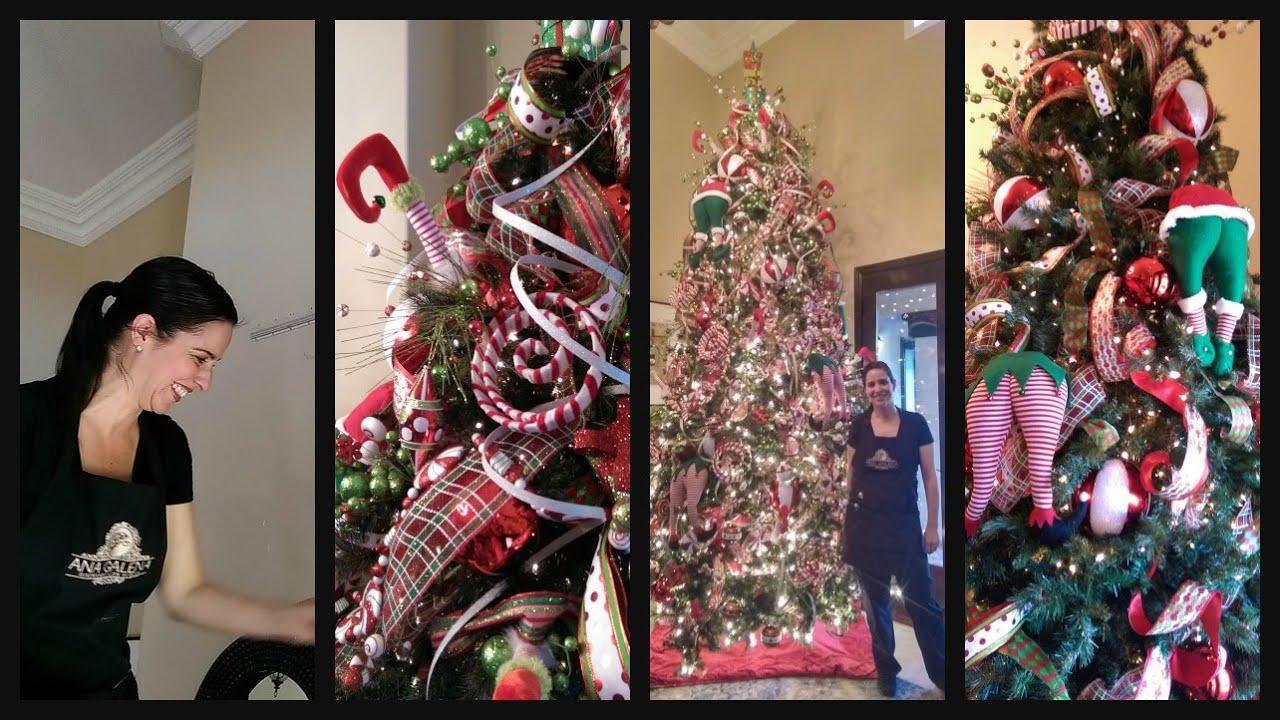 Como decorar el rbol de navidad paso por paso youtube - Como decorar mi arbol de navidad ...