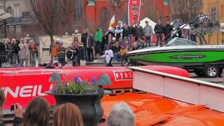 Wakeboard i kungsträdgården 2010