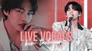 kim taehyung underrated vocals 2021