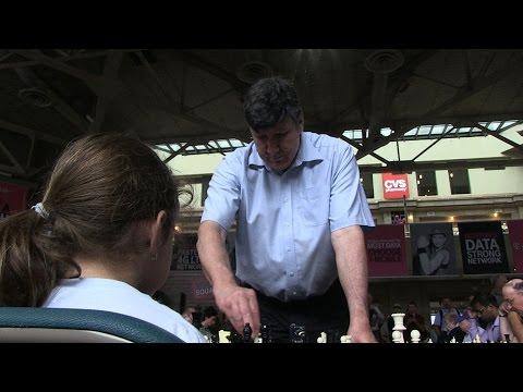 Kid vs. Grandmaster of Chess