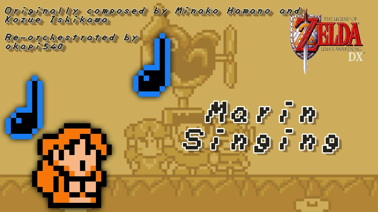 Link S Awakening Re Orchestrated Marin Singing Youtube