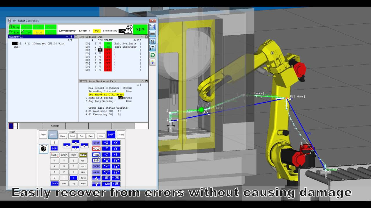 Auto Backward Exit - FANUC America iNews Product Update