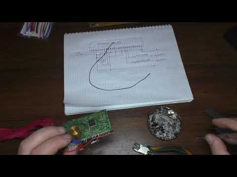 Фм приемник из модуля автомагнитолы, часть 1