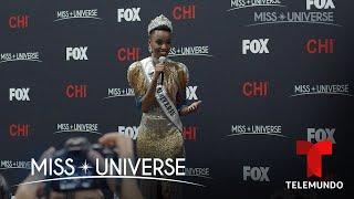 Exclusive Interview Miss South Africa 2019 Zozibini Tunzi Crowned Miss Universe 2019  Telemundo