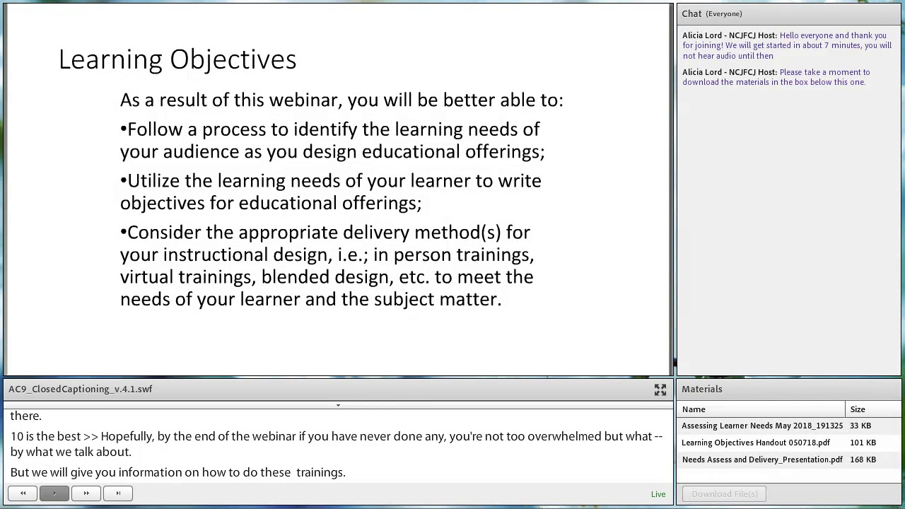 Beginning With The End In Mind Instructional Design Basics Youtube