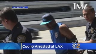 Rapper Coolio Arrested At LAX On Suspicion Of Possessing Firearm, Police Say