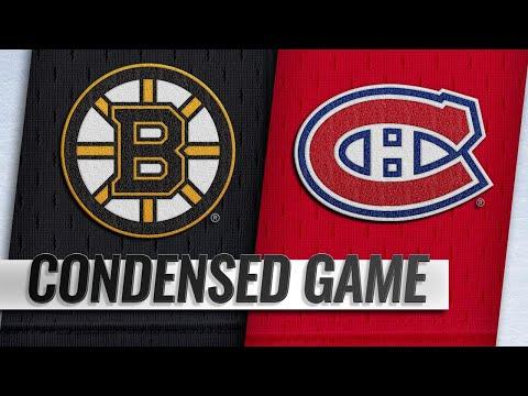 12/17/18 Condensed Game: Bruins @ Canadiens