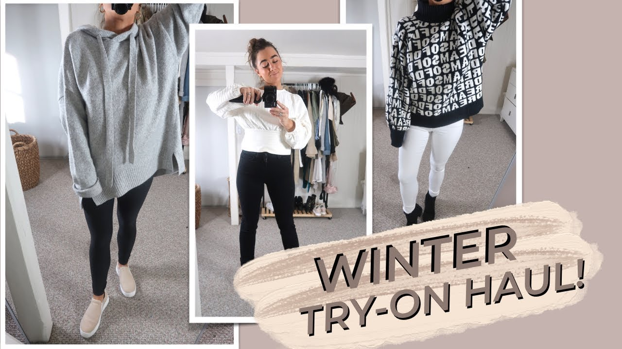 [VIDEO] - WINTER TRY-ON HAUL + OUTFIT IDEAS! 9