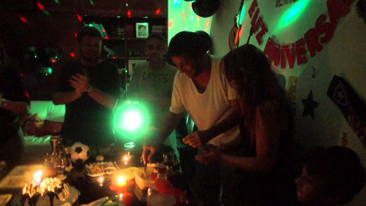 Festa de aniversário surpresa para o amigo Renato Murcia  YouTube