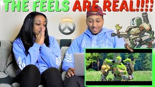 In today's Episode of Couples Reacts we react to Overwatch Animated...