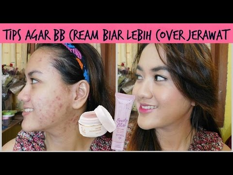 Tips Tambah Cover BB Cream Emina ft La Tulipe | Tutorial Makeup Jerawat | Base Lokal Murah Indonesia