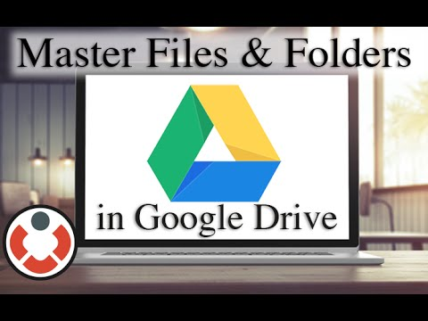 Google Drive Tutorial - Creating and Uploading Files and Folders