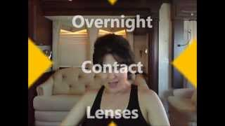 Overnight Contact Lenses