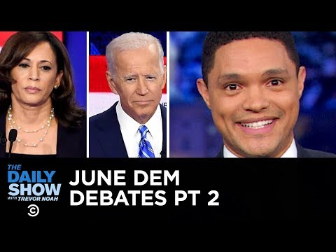Votegasm 2020: June Democratic Debates - Night Two | The Daily Show