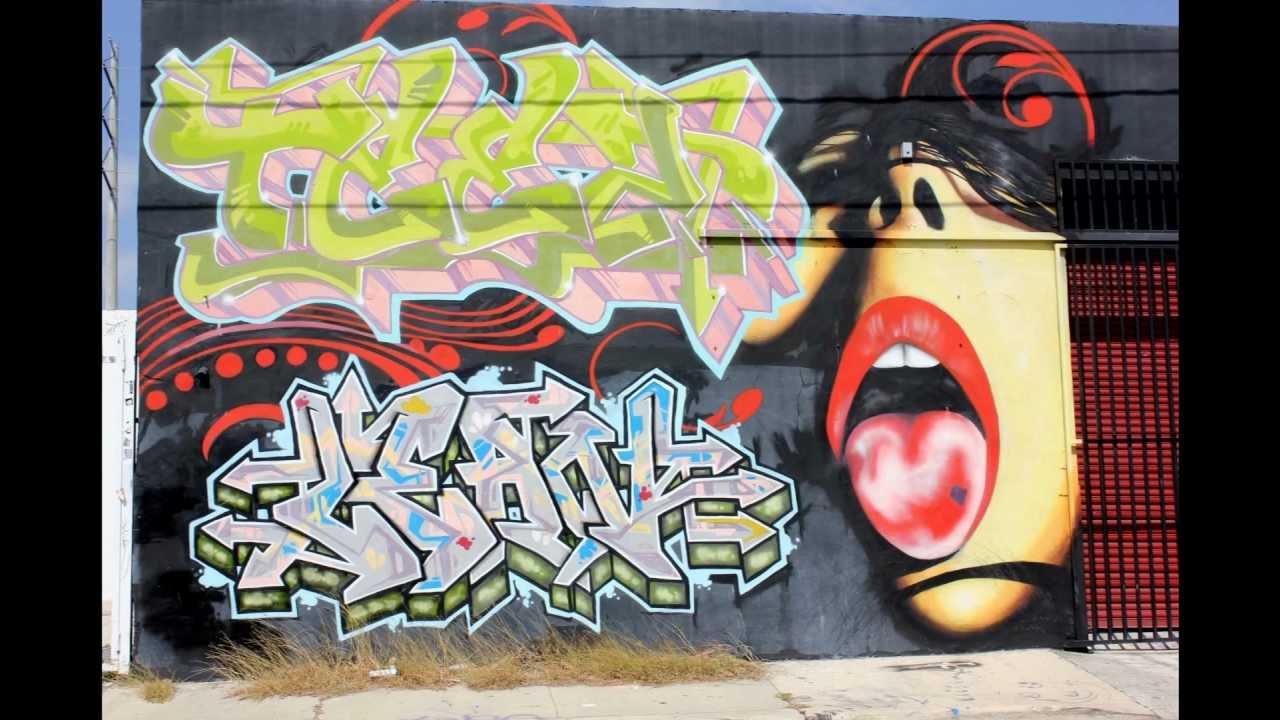 Walls of Wynwood Art District | Miami Florida | Urban Street Art and Graffiti Artist - YouTube  sc 1 st  YouTube & Walls of Wynwood Art District | Miami Florida | Urban Street Art and ...