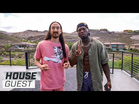 Logic MC - Steve Aoki's Mega Mansion Playhouse Is Bananas!!