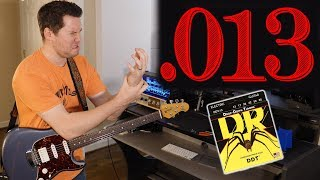 Do 13 Gauge Strings Really Affect Guitar Tone? (my fingers hurt)