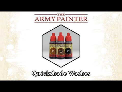 The Army Painter Quickshade Washes