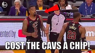 why jr smith has cost the cleveland cavaliers the nba finals