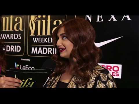 Monali Thakur at IIFA 2016