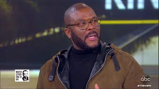 """Tyler Perry on Making His New Movie """"A Fall From Grace"""" 